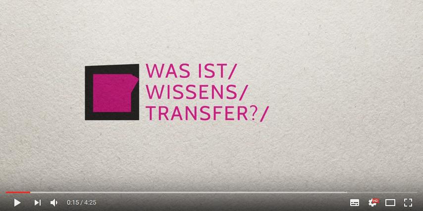 Videokampagne: Was ist Wissenstransfer?