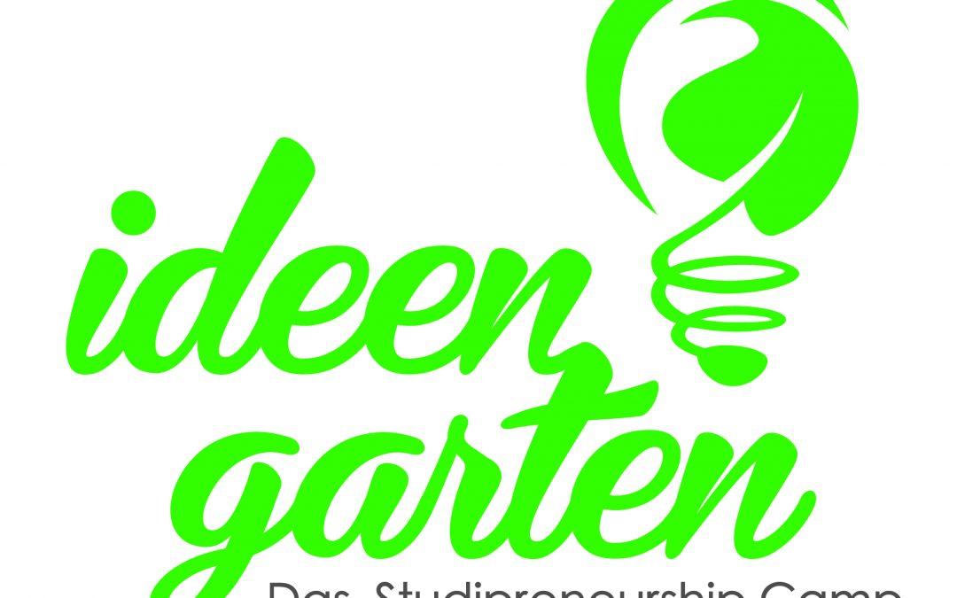 IDEENGARTEN 2016 – das Studipreneurshipcamp