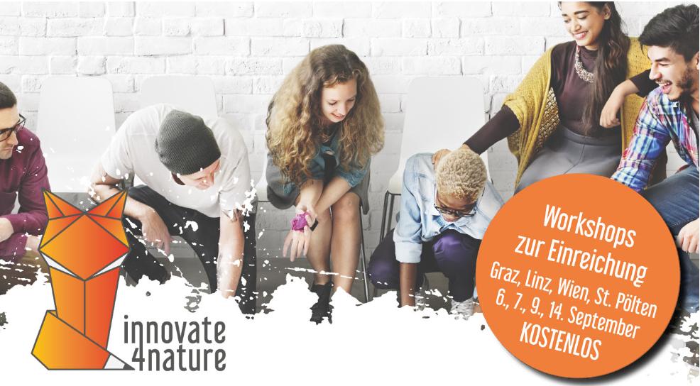 innovate4nature Workshop – Gewinne mit deiner Business-Idee 15.000 € Startkapital!
