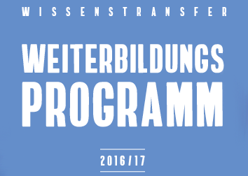 WTZ Ost Ringveranstaltung 2016/17 – Open Science, Citizen Science, Open Data & RRI