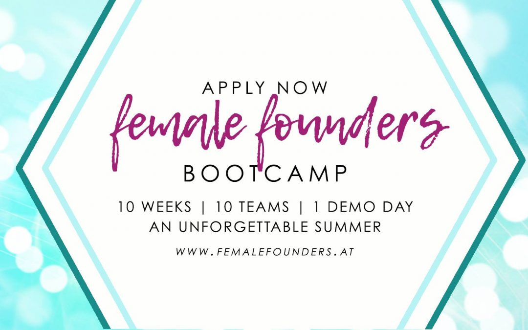 CALL: FEMALE FOUNDERS BOOTCAMP