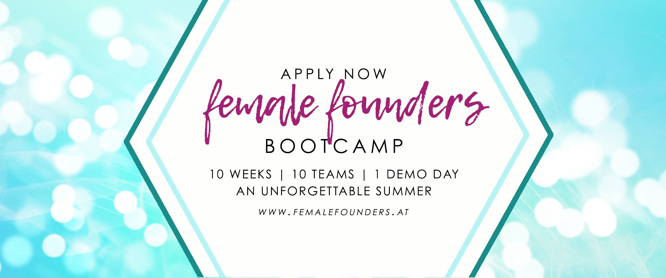 Flyer Female Founders Bootcamp