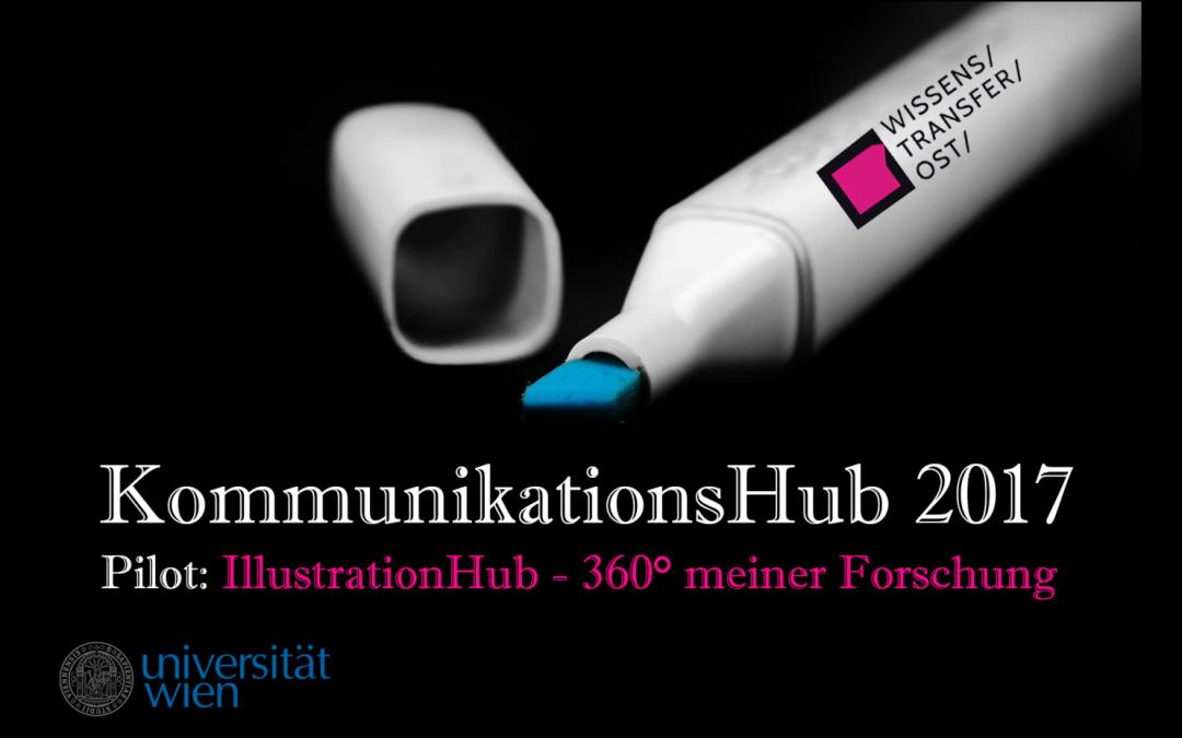 """Pilot """"IllustrationHub – 360° meiner Forschung"""" wird ausgebaut"""
