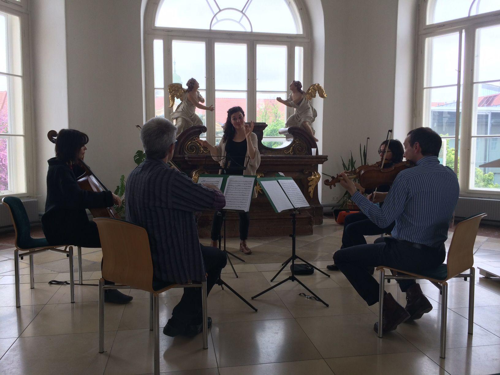 """Workshop """"Erlebnis Dirigieren"""" mit Florian Schönwiese"""