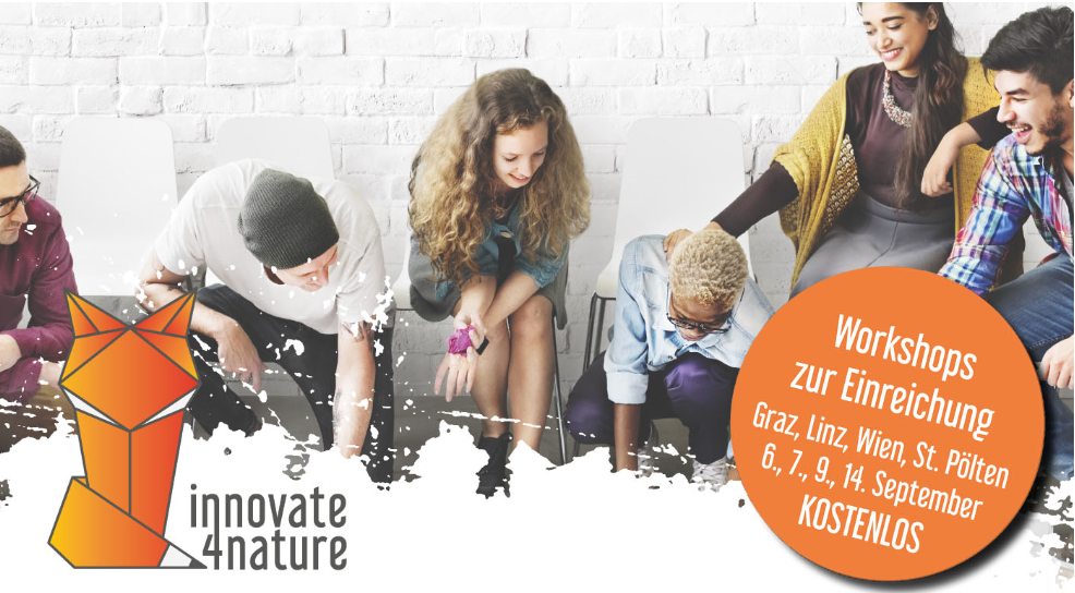 innovate4nature Workshop – Gewinne mit deiner Business-Idee 15.000 € Startkapital!