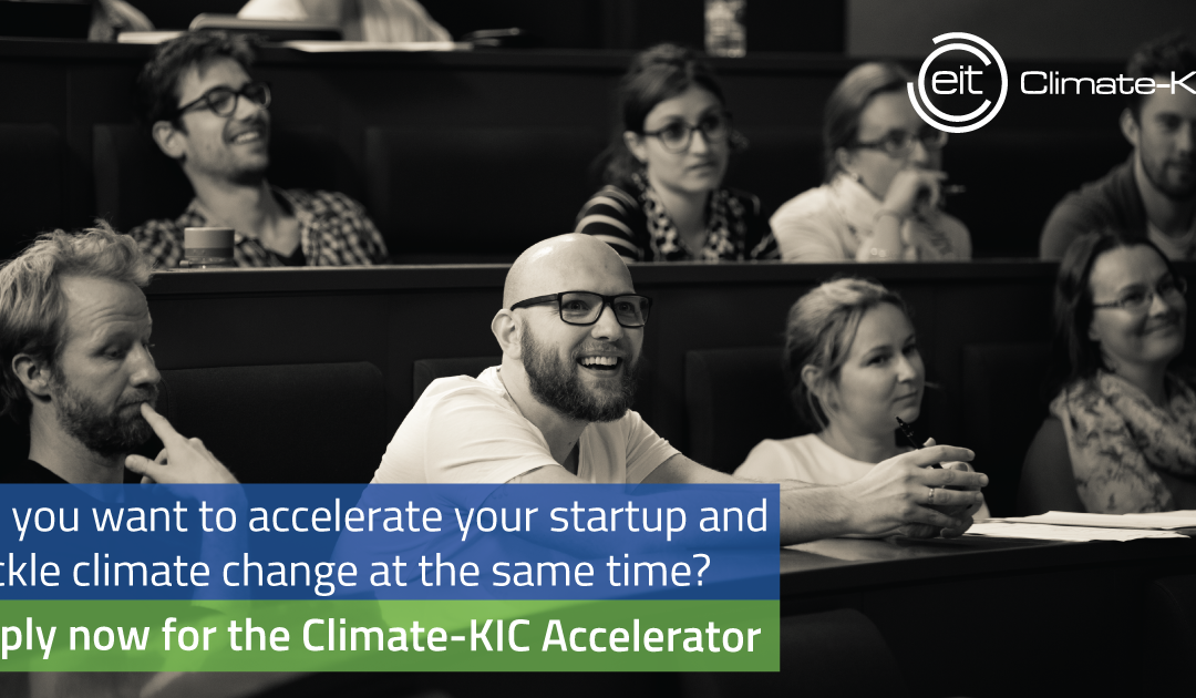 Climate-KIC Accelerator Programm sucht Klima-Innovationen von Morgen!