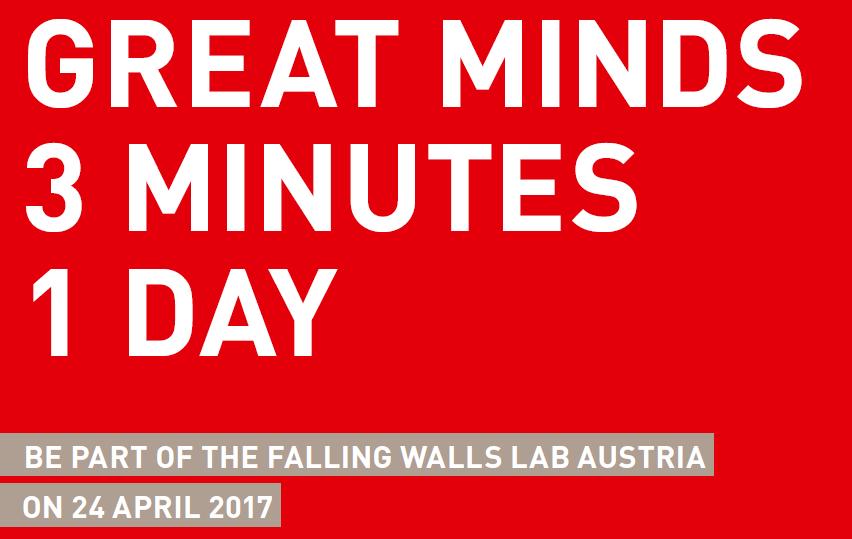 Falling Walls Lab Austria
