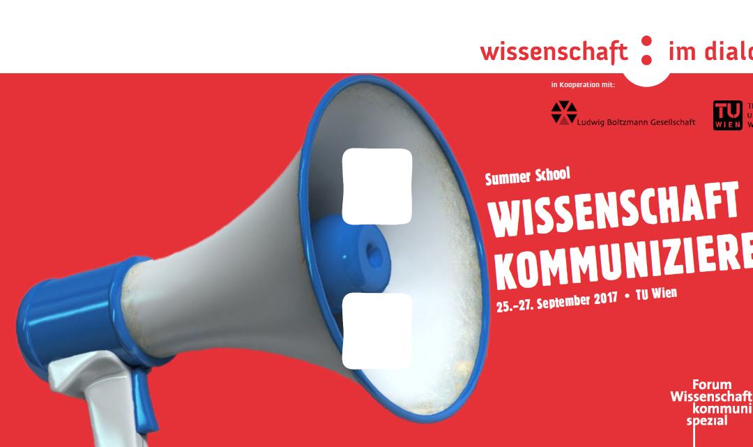 Summer School – Wissenschaft kommunizieren!