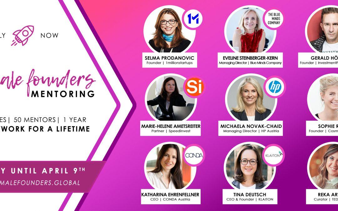 Female Founders Mentoring Programm startet in die nächste Runde!
