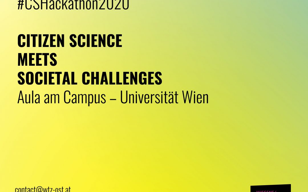 Welcome to Citizen Science meets Societal Challenges – Hackathon!