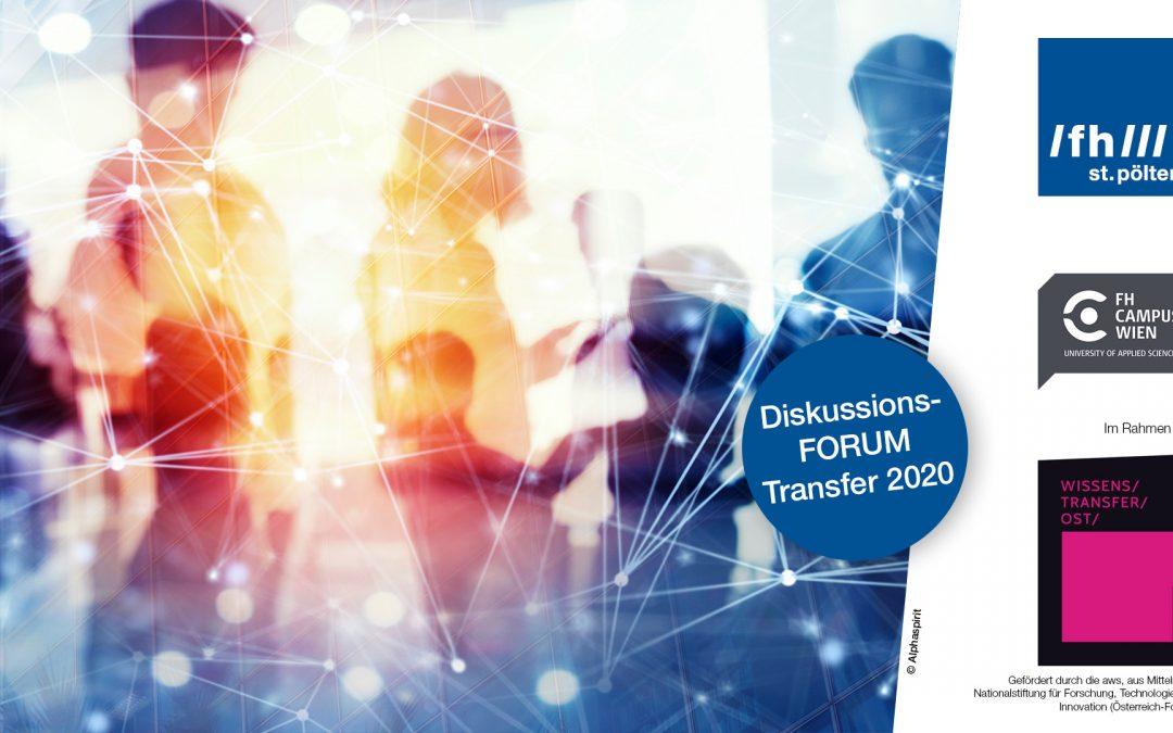 """Veranstaltung """"Zukunft des Wissenstransfers – Ausblick und Erwartungen"""""""